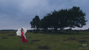 Wuthering Heights photo shoot in the New Forest
