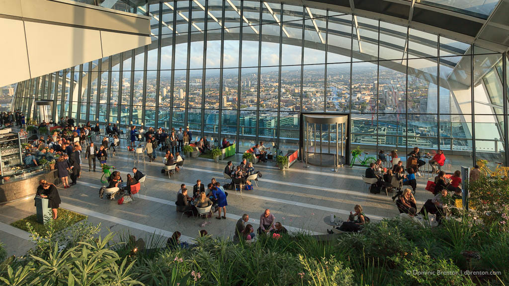 Interior of the Sky Garden